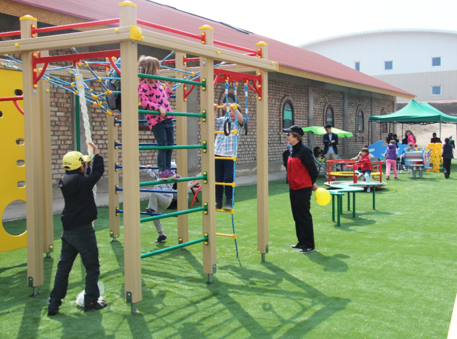 Kids playgrounds на карте